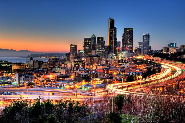 Реактивный изумруд — Сиэтл