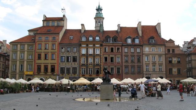 Варшава - современная и архаичная